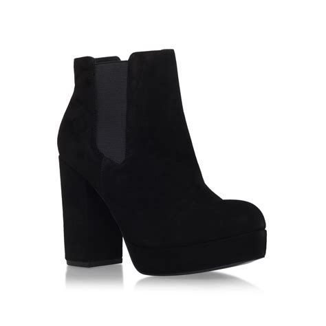 high heel boot shoes black high heel ankle boots boot yc