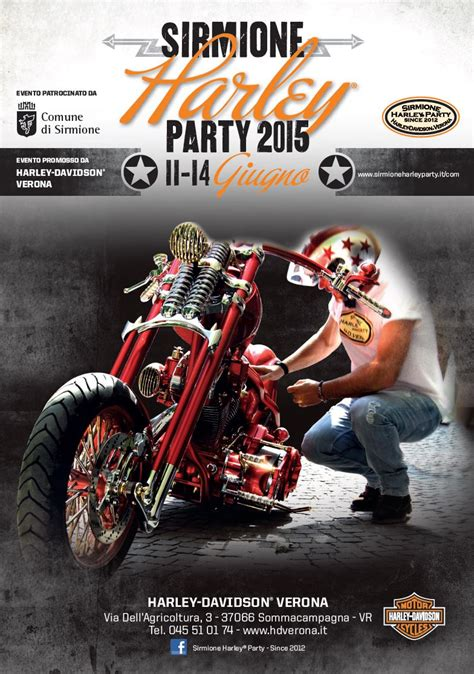 Motorradvermietung Gardasee by Sirmione Quot Sirmione Harley Party Quot 2015