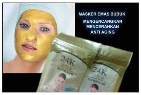 Liyanshijia 24k Gold Mask Powder Masker Wajah Bubuk 24 K jual barang unik keren dan murah