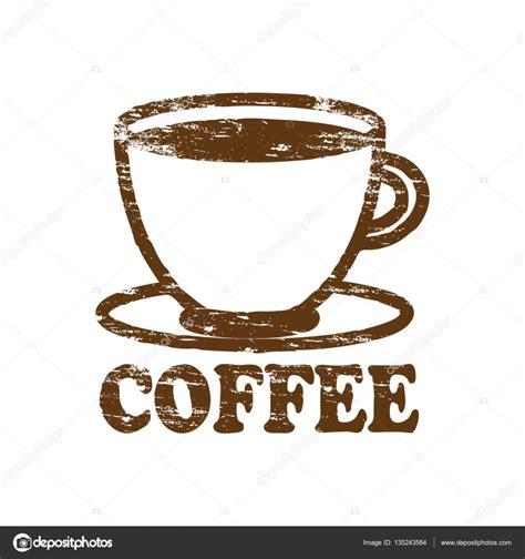 coffee rubber st 커피 도장 스톡 벡터 169 eyematrix 135243584