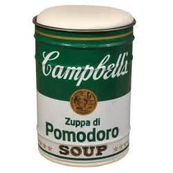 Studio simon andy warhol campbell s soup can at 1stdibs