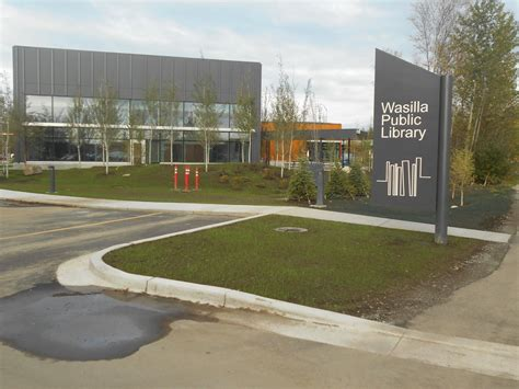Mat Su Library by Ribbon Cutting Ceremony For New Wasilla Library