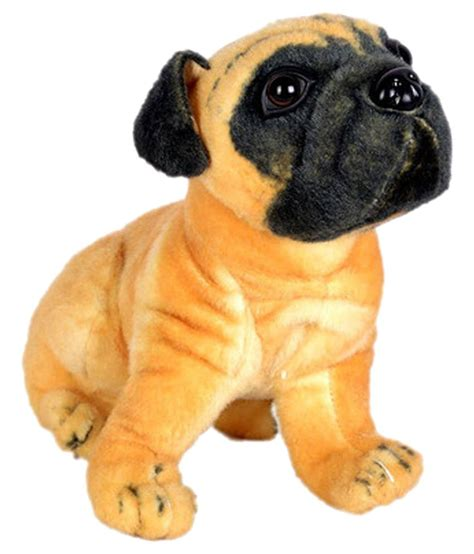 pug soft jupiter enterprises stuffed pug brown soft buy jupiter enterprises stuffed pug