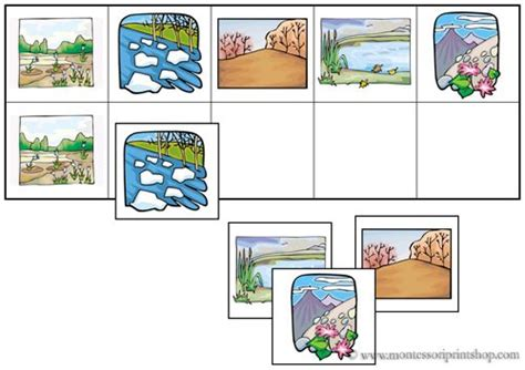 printable montessori flashcards 17 best images about pre reading on pinterest