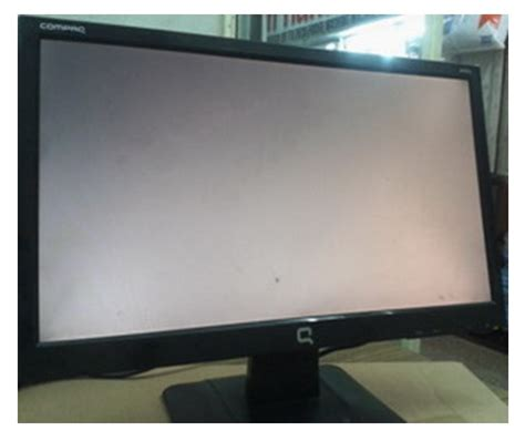 Monitor Compaq W185q compaq w185q lcd monitor blank screen repaired