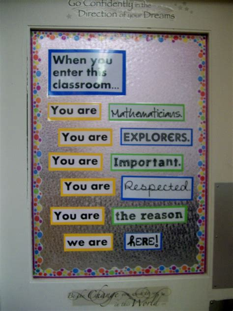 Math Decorations For Classroom by Image High School Math Classroom Decorating Ideas
