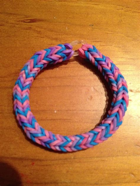 rainbow loom bracelet blue 75 best images about rubberband jewelry on pinterest