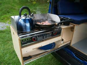 Portable Camping Kitchen With Sink by 5 Ingenious European Camper In A Box Designs