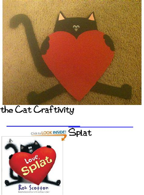 splat the cat template splat the cat craftivity goes with the book and comes