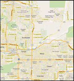 east valley arizona map quotes