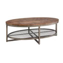 Industrial Rustic Coffee Table Ink Wood Metal Rustic Industrial Coffee Table