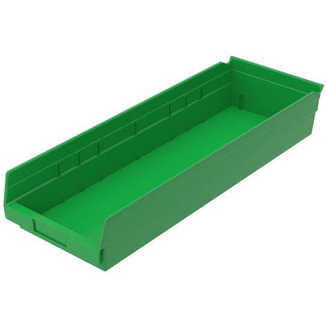 Shelf With Plastic Bins by Plastic Storage Containers Stackable Storage Bins Akro