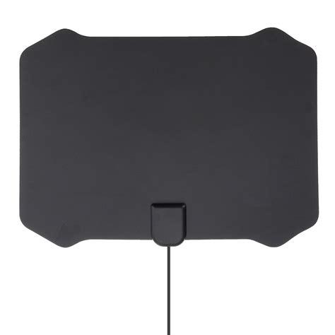 flat digital indoor hdtv hd tv antenna fox  amplifier