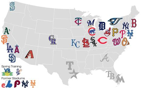 mlb map map of all mlb stadiums pictures to pin on pinsdaddy