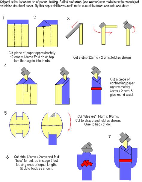 How To Make Origami Doll - pin origami kimono doll on