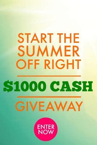 Summer Cash Giveaway - summer cash giveaway a delicate gift