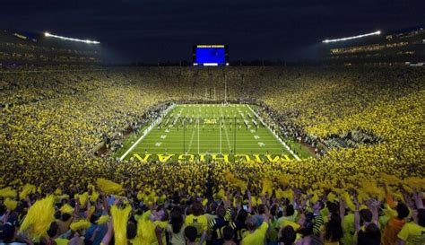 the big house capacity the 7 loudest college football stadiums ranked stack