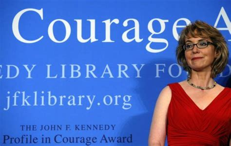 gabrielle giffords courage gabby giffords receives jfk profile in courage award ny