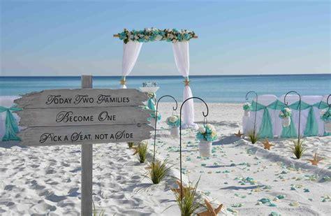 Blue Beach Wedding Ceremony   siudy.net
