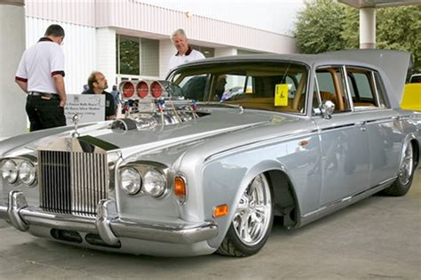 roll royce rod grey poupon rolls royce rod