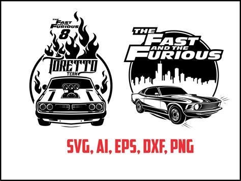 Kaos Fast And Furious Ride Or Die Design fast and furious monogram svg eps ai dxf png instant from arrowsvgstudio on etsy