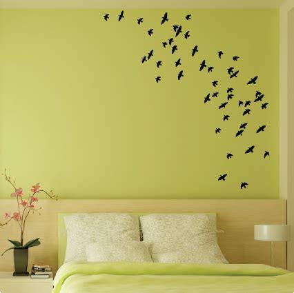 stickers muraux pour chambre adulte coller des stickers oiseaux dans votre chambre