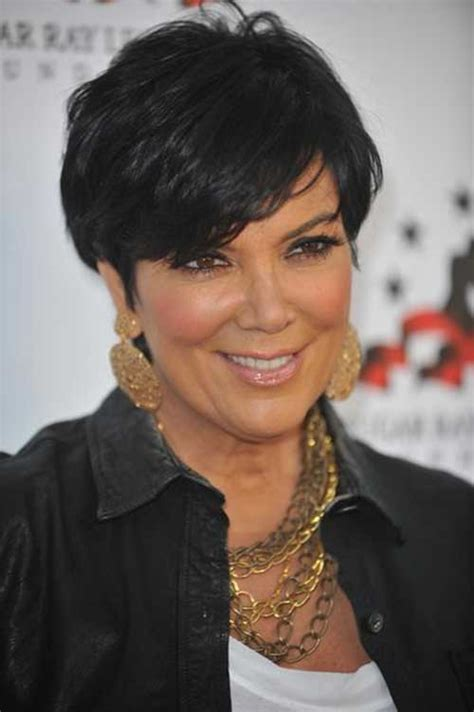 hair cut short like kris kardashian jenner and the technical short hair over 60 the best short hairstyles for women 2016