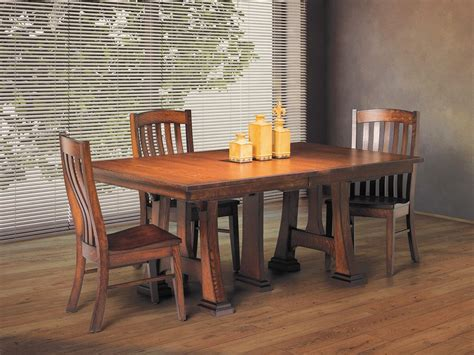 trestle table with leaves castaneda trestle table with leaves countryside amish