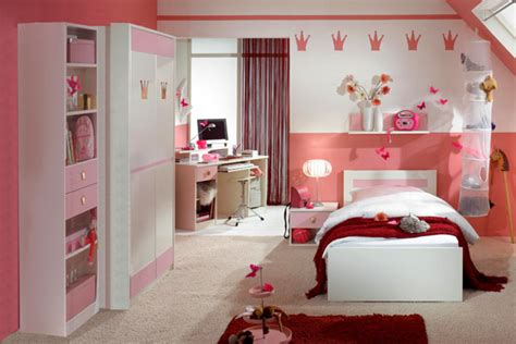 girls red bedroom ideas stylish girls pink bedrooms ideas
