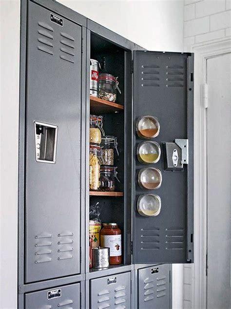 Metal Kitchen Pantry by Best 25 Metal Lockers Ideas On Lockers