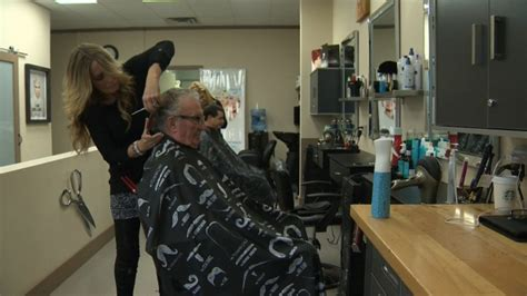 haircuts qualicum beach mid island business offers veterans free haircuts for
