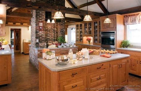 Rustic Kitchen Lighting Ideas Rustic Kitchen Designs Pictures And Inspiration