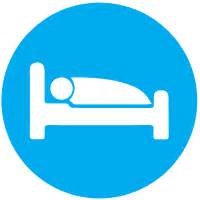 bed icon bed icon awt travel blue icons softicons com