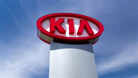 Kia Sign In San Jose Ca Usa May 24 2014 Kia Automobile Dealership