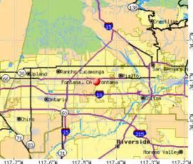 map of fontana california fontana california ca profile population maps real
