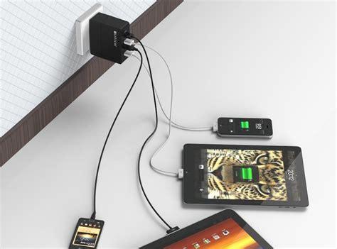 four port usb charger four port usb charger by satechi 187 gadget flow