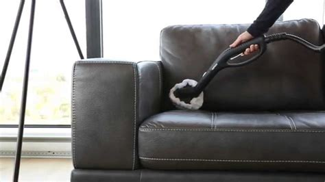 steam cleaner on leather sofa how to clean a leather sofa with a steam cleaner