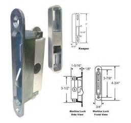Patio Door Mortise Lock Stb Sliding Glass Patio Door Lock Mortise Type Diagonal Hub 3 7 8 Quot Holes Ebay