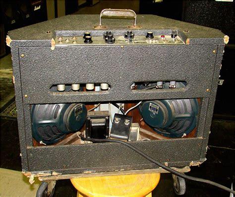 Bell Stereo Speakers vintage 1963 bell 30rv stereo guitar lifier