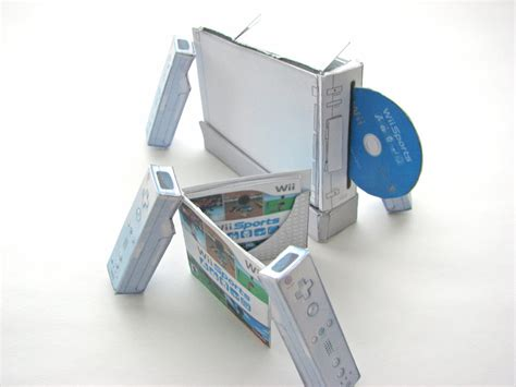 Papercraft Wii - mini papercraft wii by eccoingmark on deviantart