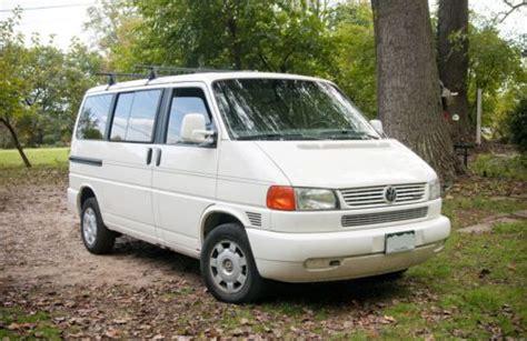how cars run 2000 volkswagen eurovan engine control purchase used 2000 volkswagen eurovan mv standard passenger van 3 door 2 8l 148000 miles in