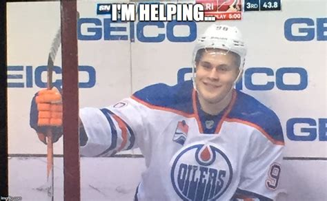 Edmonton Memes - post game talk oilers 3 coyotes refs 2 letestu with the