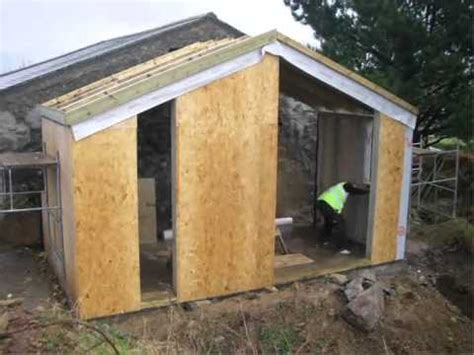 A Frame House Kits Cost by Timber Frame Extension Cornwall Built On Site In 3 Days