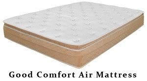 california king size comfort air mattress with dual chambers