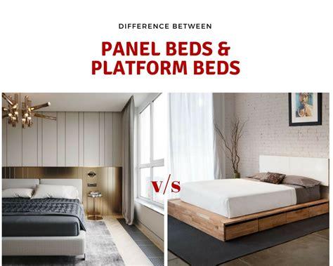 panel bed vs platform bed panel bed vs platform bed bedding sets