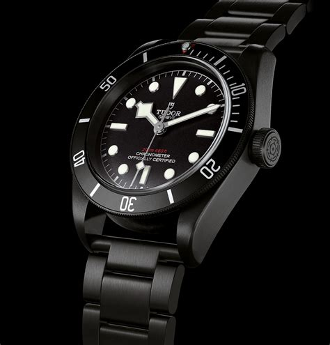 Introducing the Tudor Black Bay Dark in Black PVD   SJX Watches