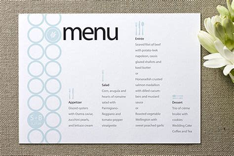 make your own menu cards how to make a menu calendar template 2016