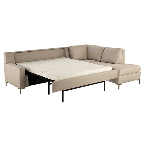 leather comfort sleeper sofa sectional comfort sleeper sofas by leather
