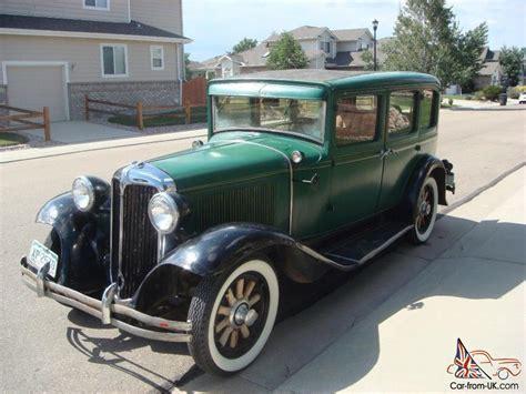 vintage chrysler 1931 chrysler six sedan antique vintage auto