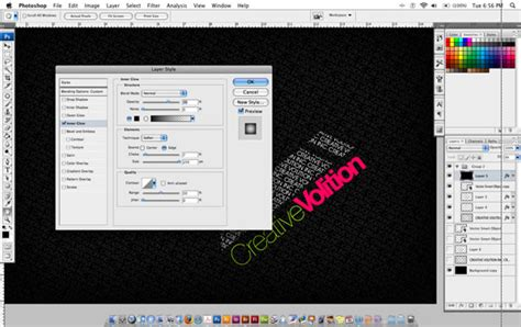 Tutorial Photoshop Cs5 Membuat Tulisan Keren | tutorial cara membuat desain tipografi tulisan keren